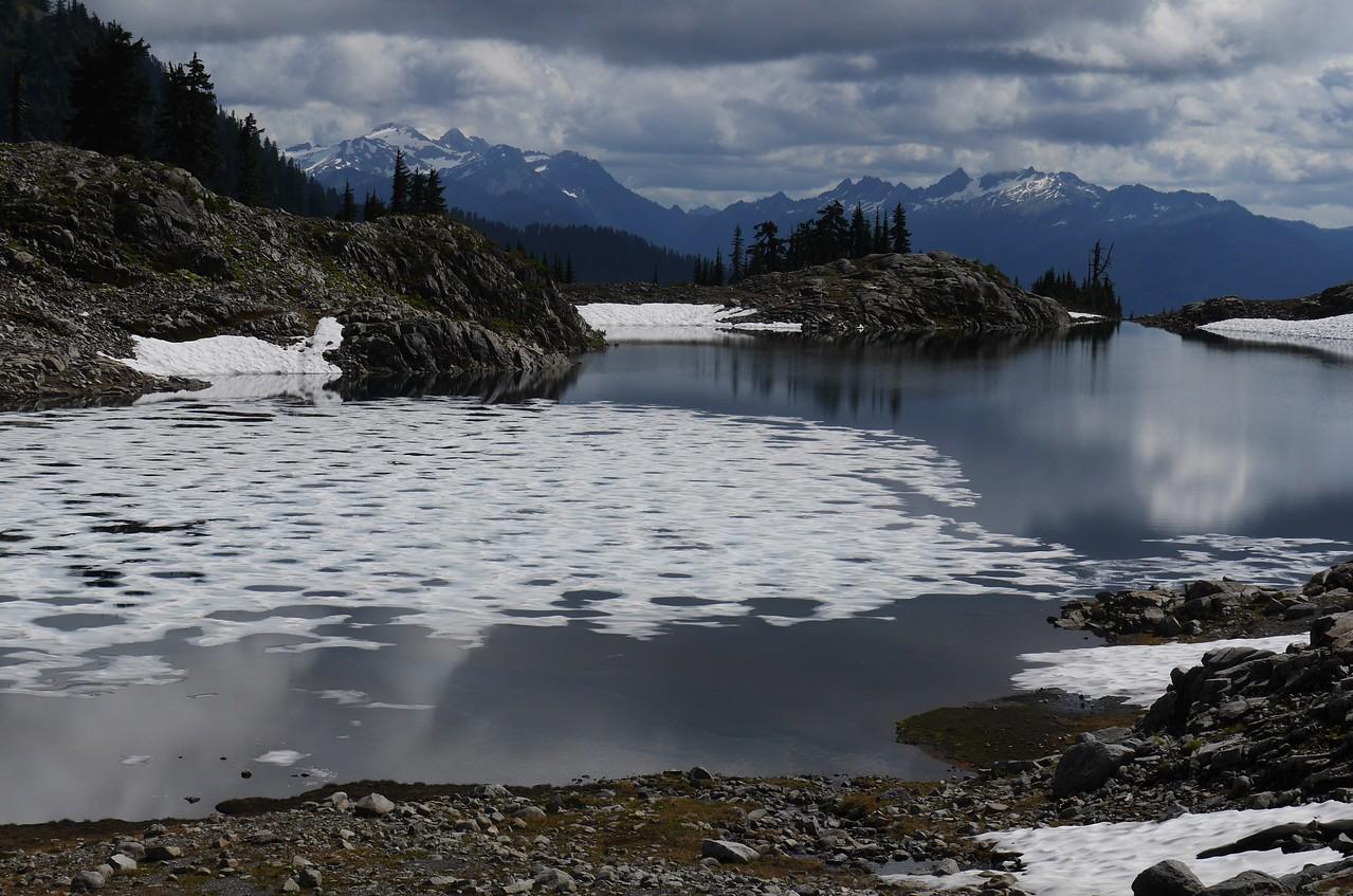 Lake Ann Hike - this is Lake Ann