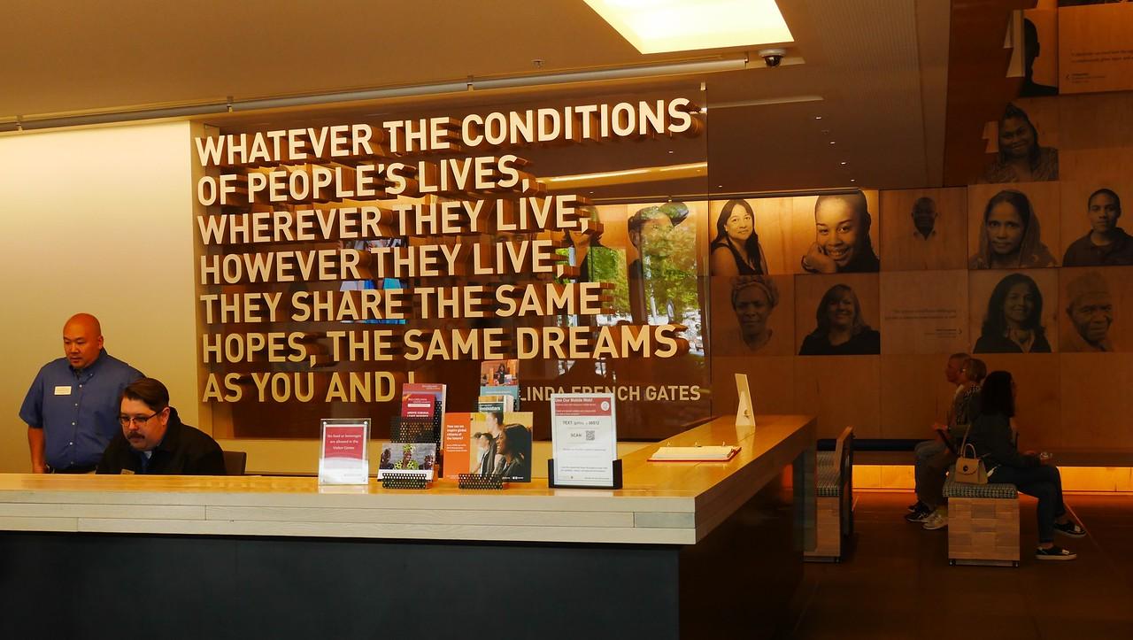 Seattle- Bill Gates Foundation