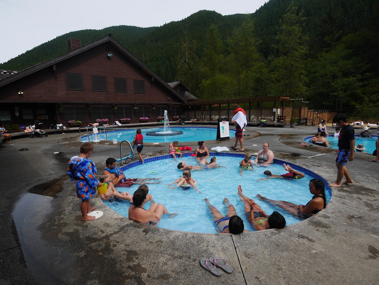 Olympic NP- Sol Duc Hot Springs
