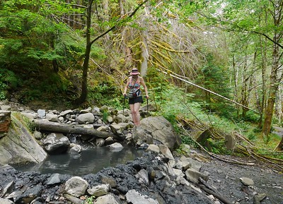Olympic NP- Hike to Olympic Hot Springs
