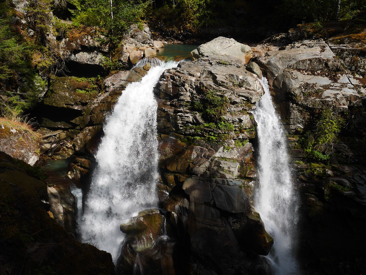 Mt Baker area- Nooksack Falls