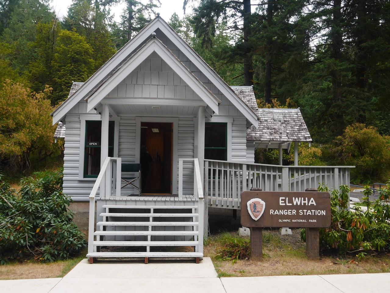 Olympic NP- Elwha Ranger Station