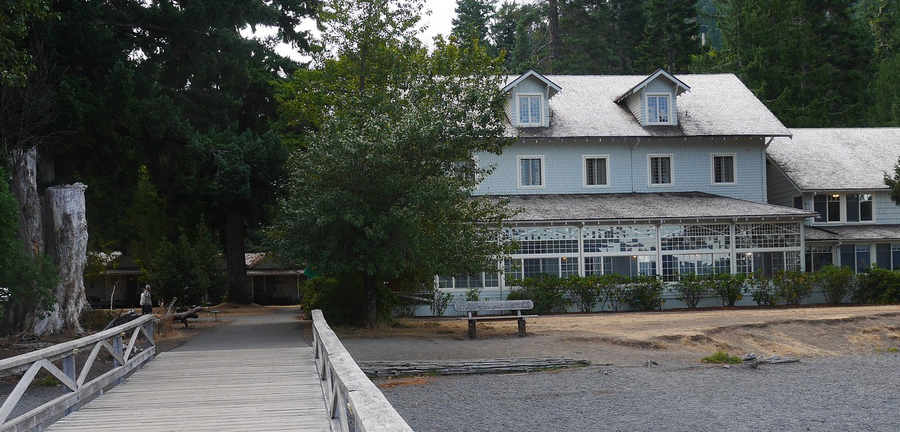 Olympic NP- Crescent Lake Lodge