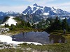 Mt Shuksan from the Artists Point Hike