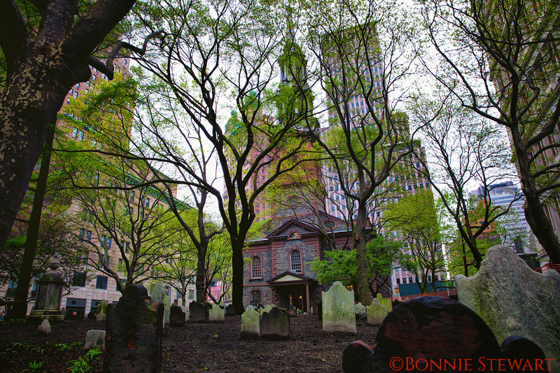 St. Paul's Church - across from the fallen twin towers in 9-11 terrorist attach