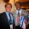 Chris Stewart and THE REAL Don King at the 10th Annual Anniversary of the Peres Center for Peace, Tel Aviv, 2008