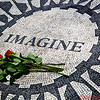 Memorial to John Lennon in Central Park