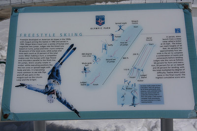 Freestyle Skiing Sign