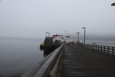 Pier and Mailboat
