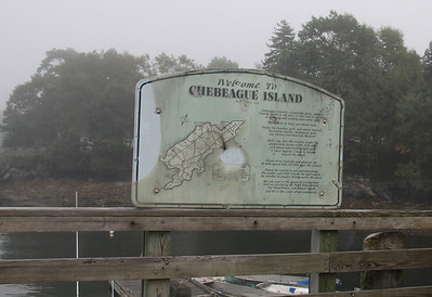 Welcome Sign at Dock