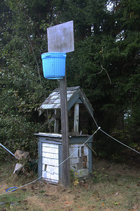 Basketball Hoop and Water Well