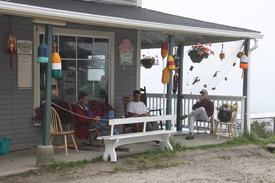 Seaside Cafe Porch