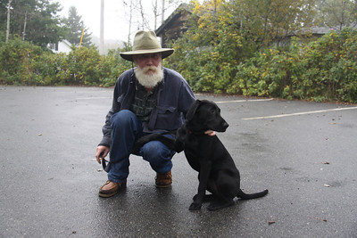Local Man and His Dog