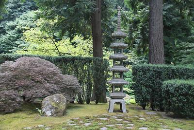 Five-Tiered Stone Pagoda