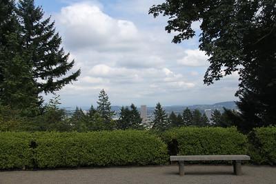 Overlooking Portland City