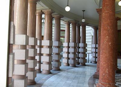 City Hall Building Pillars