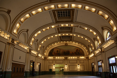 Union Pacific Depot Interior