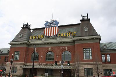 Union Pacific Depot Exterior