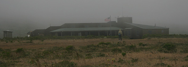 The ranger station is close to the campground. Along with wind, the island has plenty of fog, especially in the summer. September and October tend to be clearer.