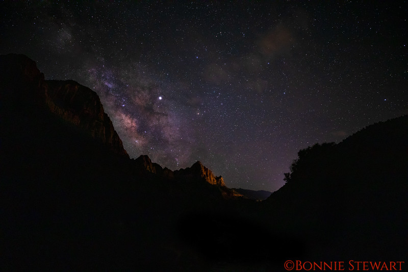Milky Way from the Watchman's bridge