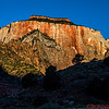 Sunrise view of Kino Saba in Zion National Park