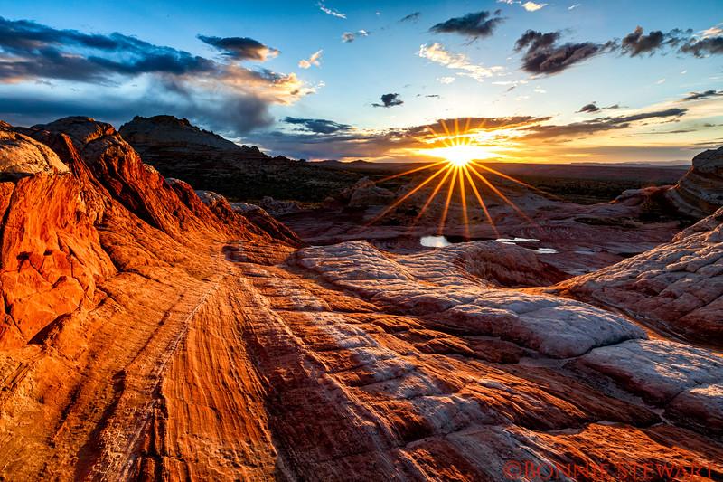 Sunset at White Pocket