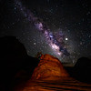 Milky Way at Bonsai Tree, Zion National Park