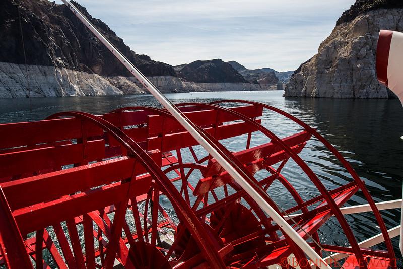 Paddle Wheel on Lake Mead Cruise