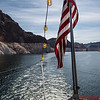 Hoover Dam and the US Flag
