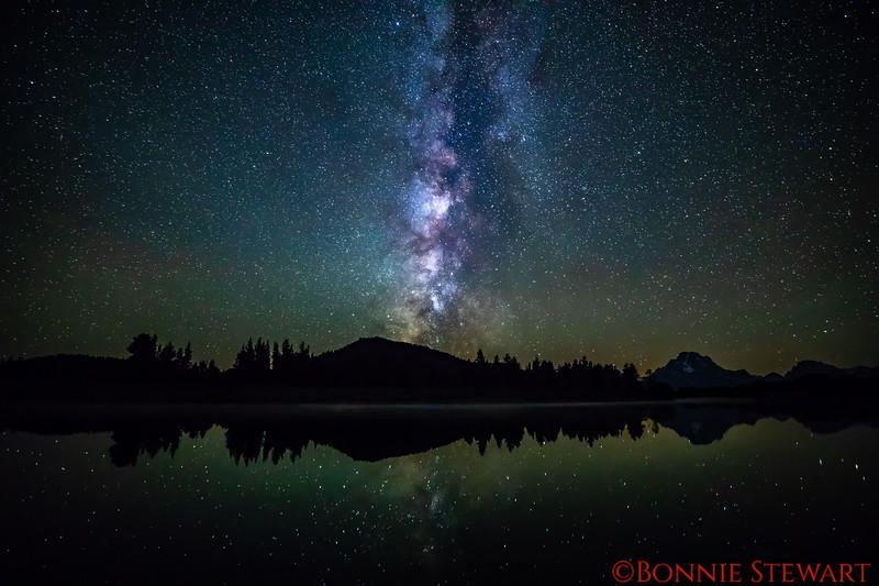 Milky Way at catholic Bay