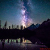 Milky Way over String Lake