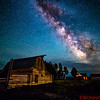 Milky Way over the John Moulton Barn
