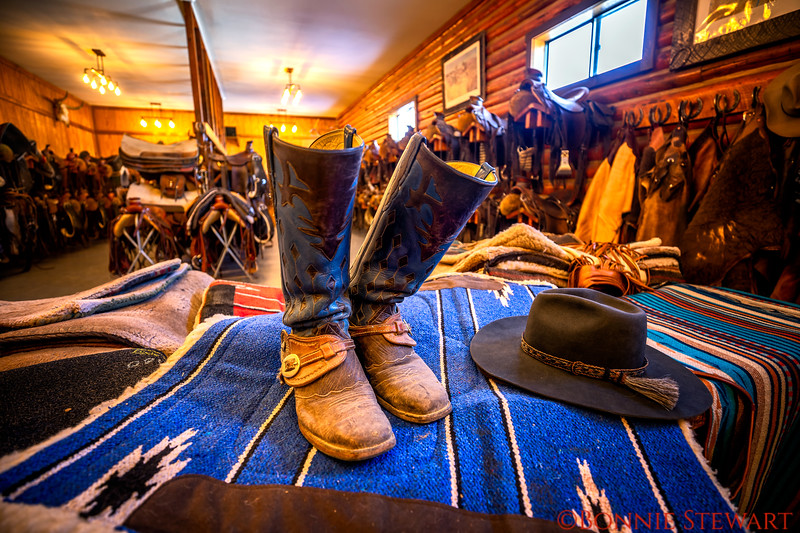 Boots, Saddles, Hats, Saddle Blankets, Chaps and Gloves