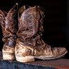 Well worn pair of boots!