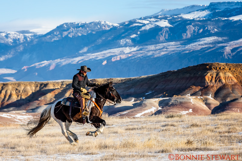 Wrangler Lance riding