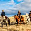The Hideout Ranch wranglers - Marijn, Eric, Mel