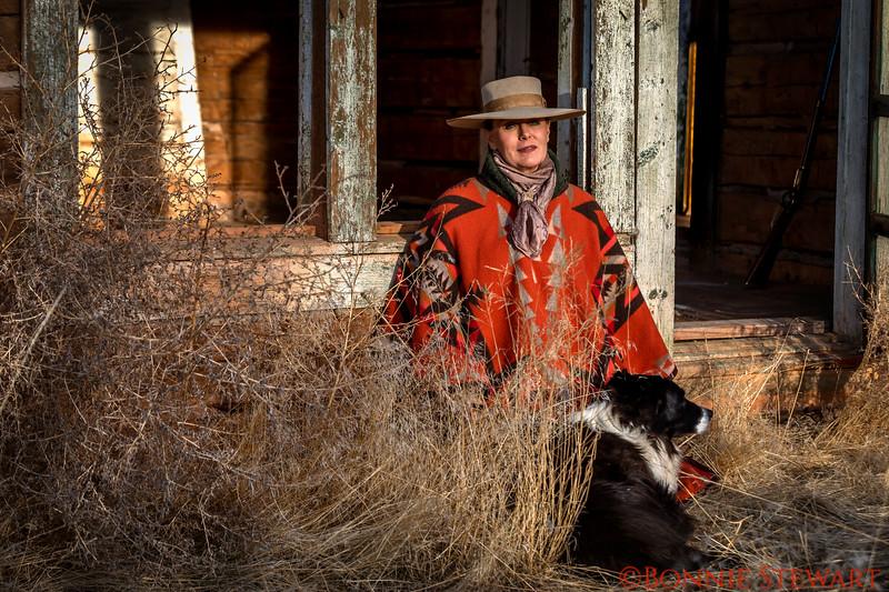 Wrangler Portrait - Marijn and her dog