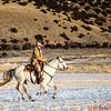 Wrangler Augustus riding