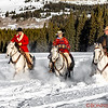 Tom, Marijn and Eric ride the soft snow