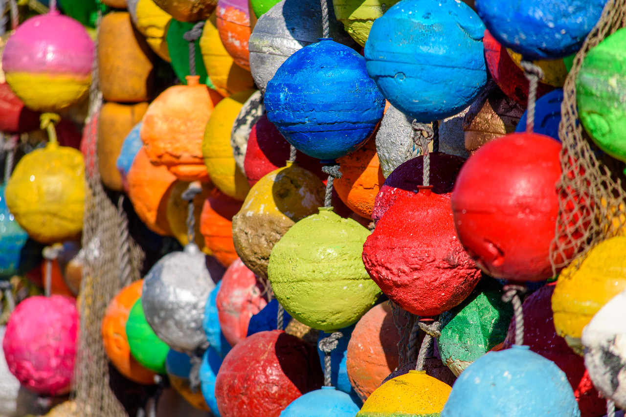 Floats of every color