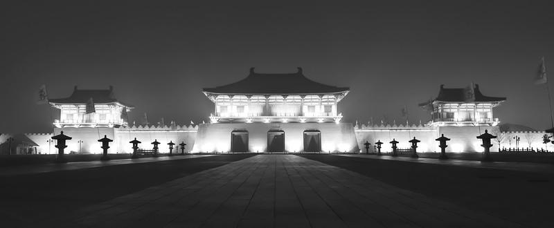 Dingding Ancient Gate, LUOYANG。唐代定鼎门,洛阳。