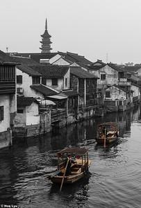 Qiandeng Old Town. 千灯古镇,Kunshan,Jiangsu Province