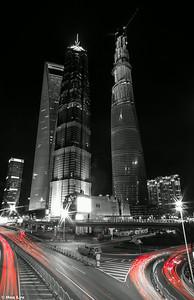 Lujiazui  Night, Shanghai. 陆家嘴夜景。