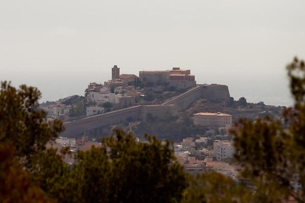 Old town Ibiza, Spain