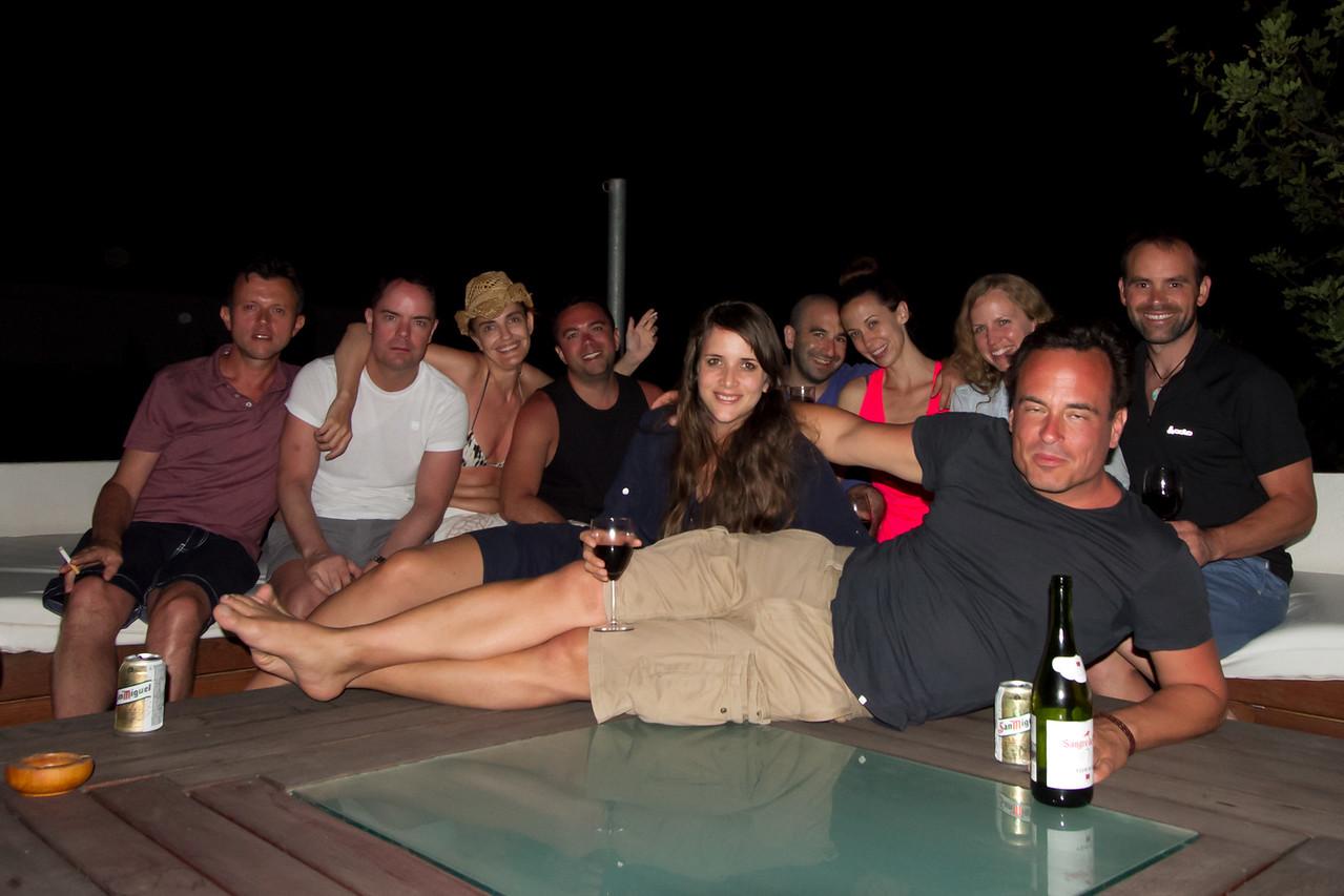 The Villa Crew on Ibiza Island 2015