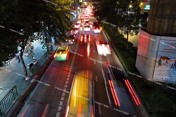 Bangkok, Nov 29th, 2016 - Sukhumvit Road