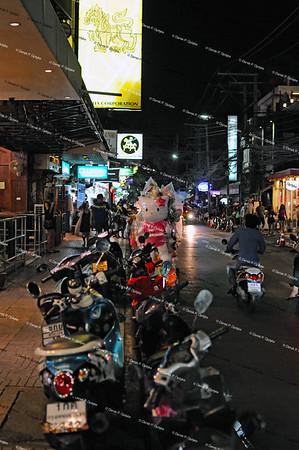 Bangkok, Nov 30th, 2016 - Nana Tai Alley (Sukhumvit 4 Alley)