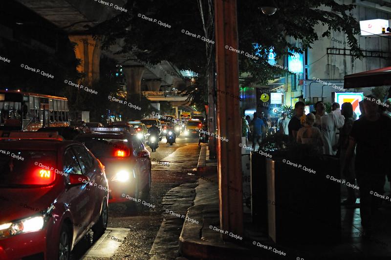Bangkok, Nov 30th, 2016 - Sukhumvit Road