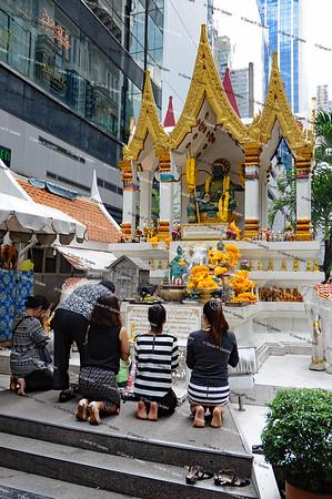Bangkok, Nov 24th, 2016 - Phloen Chit Road
