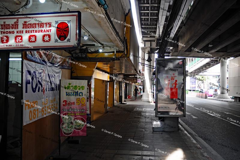 Bangkok, Nov 23rd, 2016 - Sukhumvit Road, Asok
